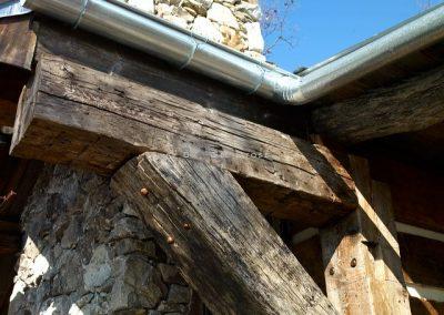 150+ year old beams