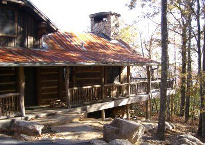 Rocky cabin exterior 2006.