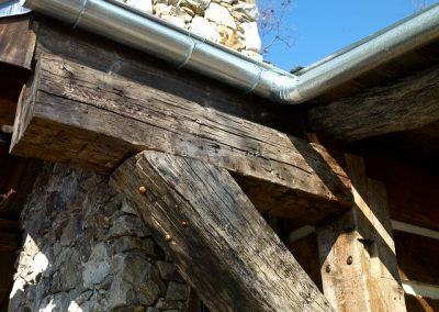 150+ year old beams